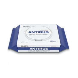 Korean ANTIRUS Cleaning Wipes 100 sheets