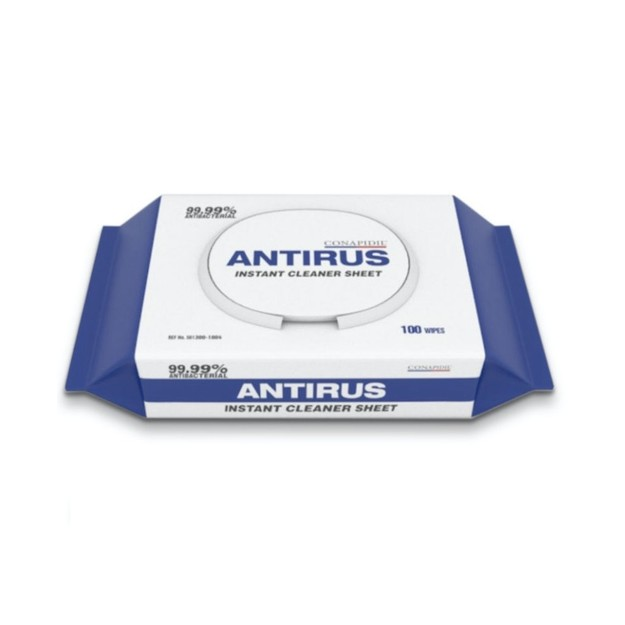Product Detail - Korean ANTIRUS Cleaning Wipes 100 sheets - image 0