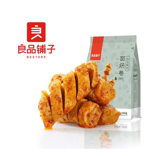 商品详情 - [中国直邮] BESTORE 良品铺子面筋卷烧烤味120克 - image  0