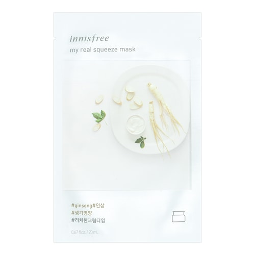 My Real Squeeze Mask - Rice by innisfree #18