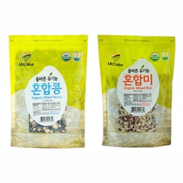 McCabe Organic Grain (2-Pack) (Mixed Rice and Mixed Bean)