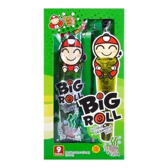 泰国小老板 BIG ROLL经典紫菜卷 原味 9条入
