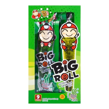 TAO KAE NOI Big Roll Grilled Seaweed Roll Original Flavor 9pc