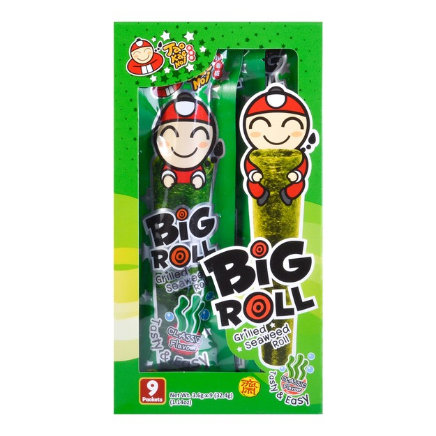 Product Detail - TAO KAE NOI Big Roll Grilled Seaweed Roll Original Flavor 9pc - image 0