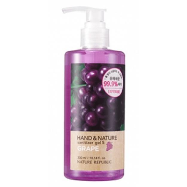 Product Detail - Nature Republic SANITIZER GEL  54.72% Alcohol 99.9% of excellent sanitizing effect 300ml S-GRAPE - image 0
