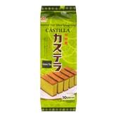 IMURAYA Castilla Japanese Style Baked Sponge Cake Matcha Flavor 10 Slices 400g