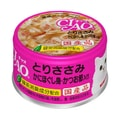 INABA Chicken and Snow Crab and Bonito Flavour Cans - 85g