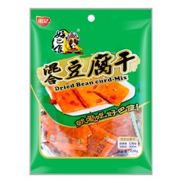 HAO BA SHI Dried Bean Curd Mixed Flavor 220g