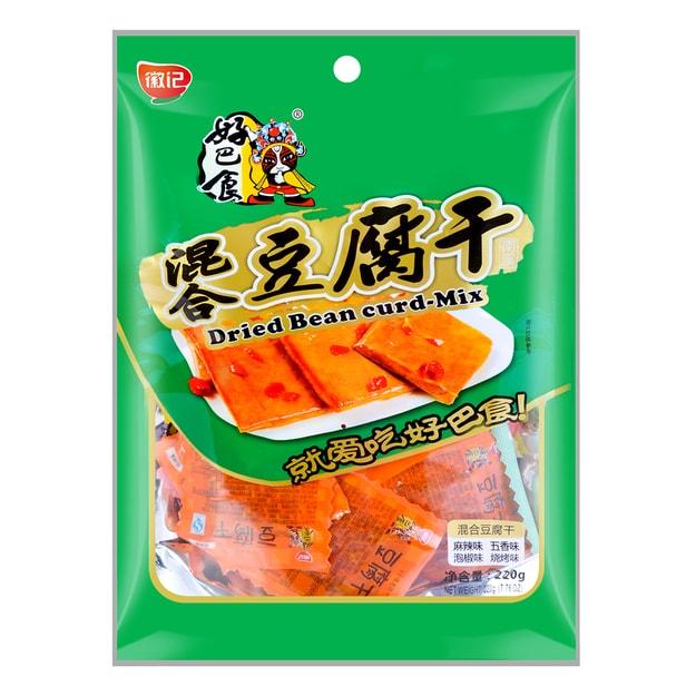 商品详情 - 徽记食品 好巴食 豆腐干 混合口味 218g 谢娜代言 - image  0