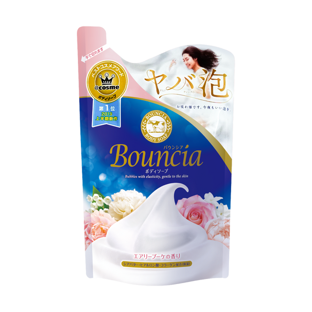Product Detail - COW Bouncia Rose Body Soap Refill 400ml - image 0