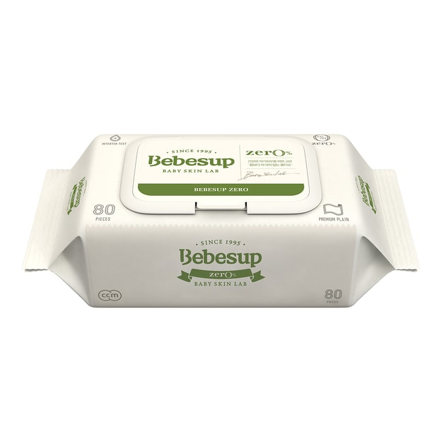 Product Detail - BEBESUP Baby Wipes Zero 80sheets - image 0
