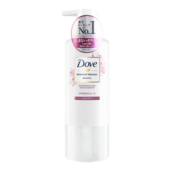 DOVE Botanical Selection Shampoo Glossy Straight 500g