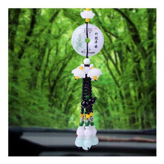 Product Detail - RAMBLE Car Pendant Cute Rearview Mirror Hanging Gourd Cartoon Automobile Interior Decoration Ornament ZBPA 1 pcs - image 0