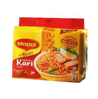 MAGGI 2-Minute Noodles Curry 5pc