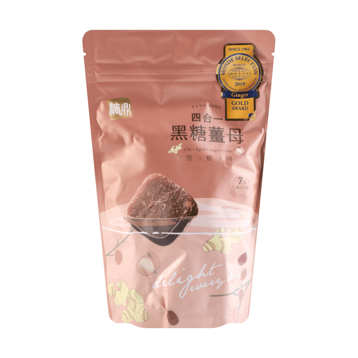 Yamibuy.com:Customer reviews:4 in 1 Aged Ginger Brown Sugar Concentration Cube 210g