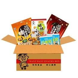 Taiwan WANT WANT Enjoy Party Eat With Beer Snack Set 350g