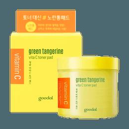 GOODAL GREEN TANGERINE Vita C Toner Pad 70ml