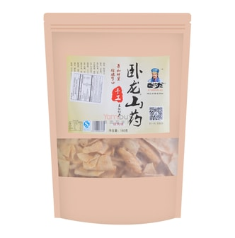 WOLONG Chinese Yam Chips BBQ Flavor 180g