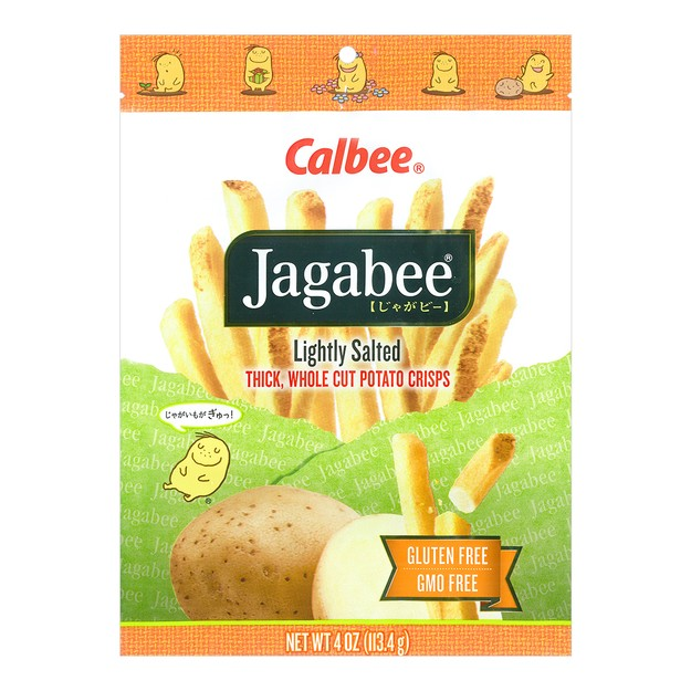 Product Detail - CALBEE Jagabee Lightly Salted Potato Sticks 113.4g - image 0