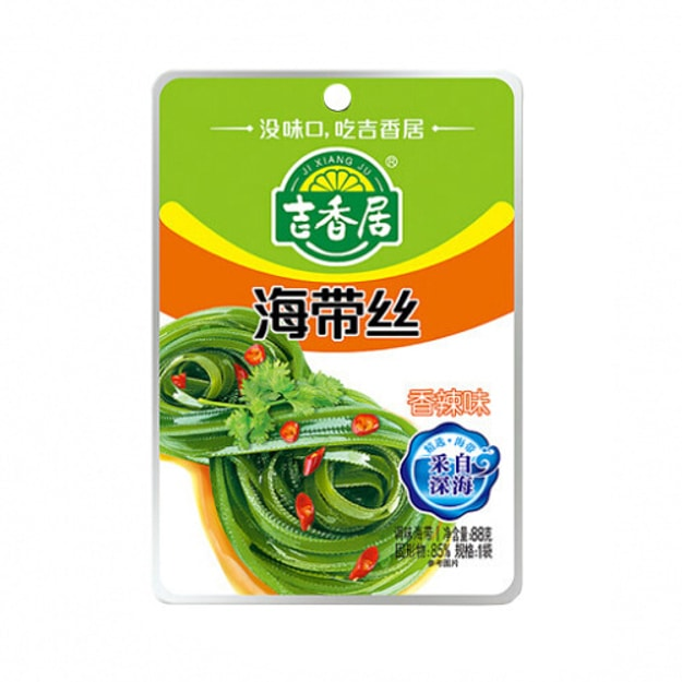 Product Detail - JIXIANGJU ShereddedKelp in Chili Oil 88g - image 0