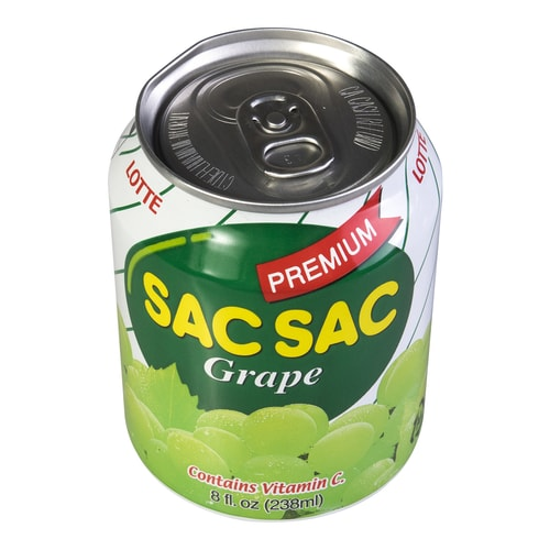 LOTTE Sac Sac Grape Juice 238ml
