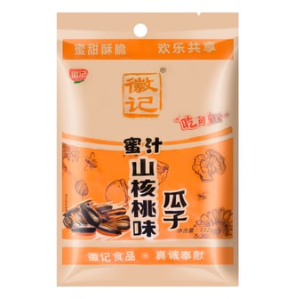 HJ Boiled Sunflower Seed Honey Walnut Flavor 112g