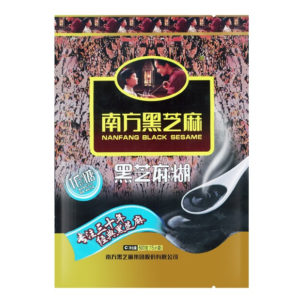 Product Detail - NanFang Black Sesame Soup Powder (low-sugar) 600g - image 0