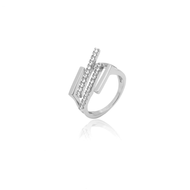 Product Detail - ARSIS Modern Silver Ring 1 piece - image 0