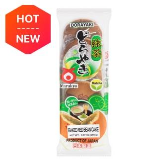 SHIRAKIKU Dorayaki Baked Red Bean Cake Matcha 5pc