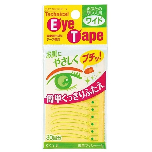 Product Detail - KOJI EYE TALK Double Eyelid Technical Eye Tape Wide Type 60pcs - image 0