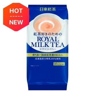 日本NITTOH日东红茶 ROYAL MILK TEA 红茶速溶奶茶粉 10支入 140g
