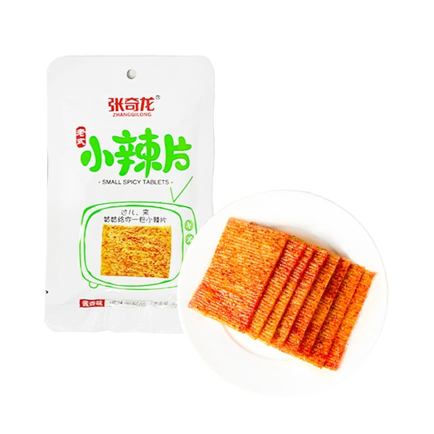 Product Detail - ZHANGQILONG Vintage Small Spicy Slices Sauce Flavor 36g - image 0
