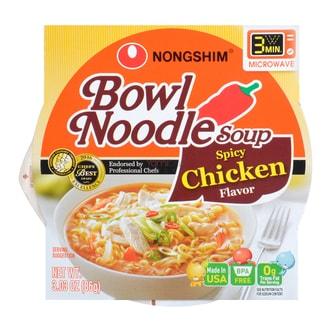 韩国NONGSHIM农心 可微波碗面香辣鸡汤味 86g