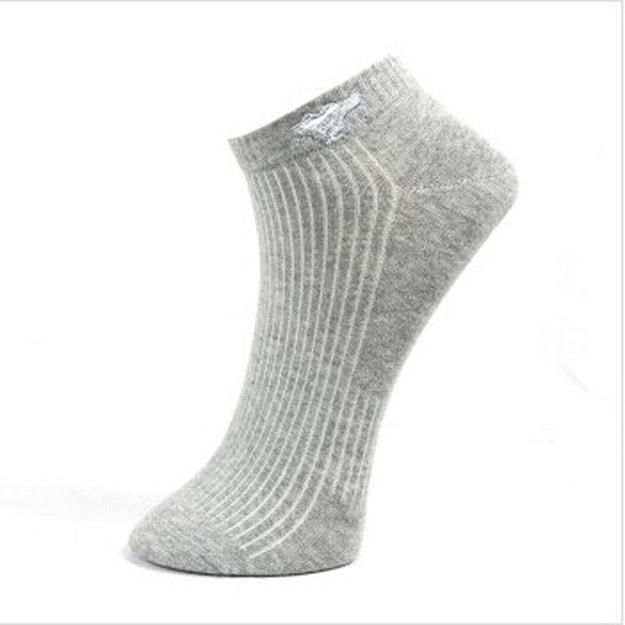 商品详情 - 七匹狼袜子男短袜船袜男士运动棉袜四季低帮浅口隐形袜 黑白灰均码D0014 - image  0