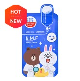 MEDIHEAL X LINE FRIENDS N.M.F Aquaring Ampoule Mask 1sheet