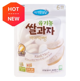 ILDONG Baby Rice Cracker-Original Flavor 30g  for more than 6 months baby USDA certification