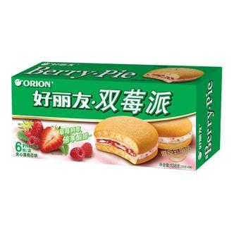 韩国ORION好丽友 双莓派 6枚入