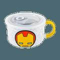 名创优品Miniso 漫威卡通保鲜碗 餐碗 650ml #钢铁侠