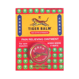 TIGER BALM Pain Relieving Ointment 4g