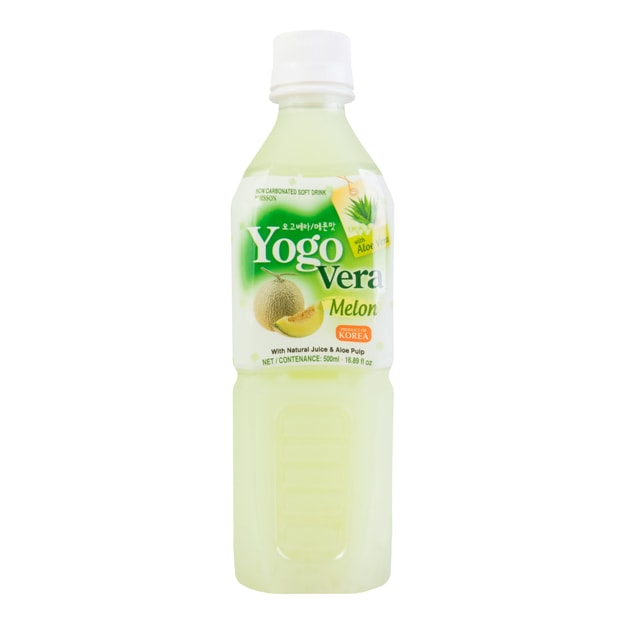 Product Detail - Yogo Vera Aloe- Melon Soft Drink 500ml - image 0