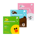 【3 Packs】X LINE FRIENDS Warming Eye Mask 30 Pieces In Total #Citrus+Lavender+Unscented