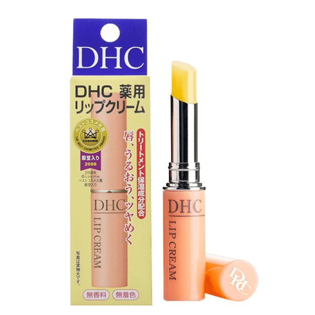 商品详情 - DHL直发【日本直邮】日本本土版DHC COSME大赏受赏 橄榄油护唇膏 1.5g - image  0