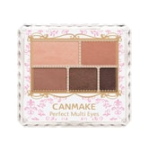 CANMAKE Perfect Multi Eyes Shadow Palette 01 Rose Chocolate 1pc