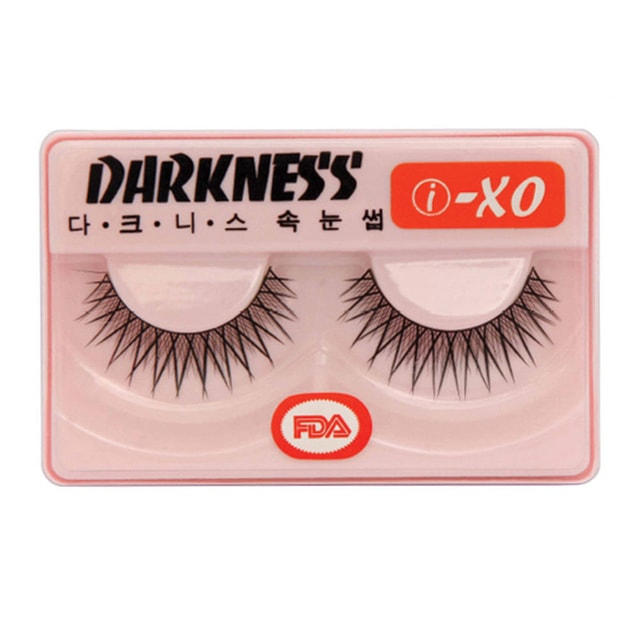 Product Detail - DARKNESS False Eyelashes #IXO 1Pair In 1Box - image 0