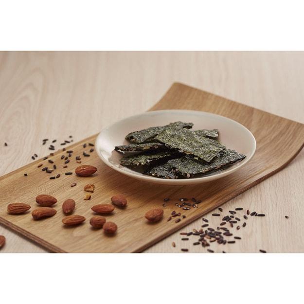 商品详情 - 台湾阿舍食堂 黑米夹心海苔 辣味 6包入 78g - image  0