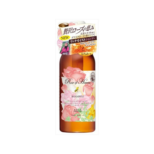 Product Detail - KOSE Rose Of Heaven Shampoo 400ml - image 0