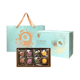 【Pre-Sale Estimated Shipping Early August】Oct.5th Bakery Assorted Lava Egg Mooncake 8pc 400g