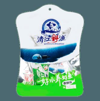土老憨 清江野渔鱼干 香酥味 110g