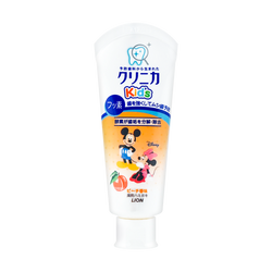 Japan Lion Mickey Kid's Toothpaste #Peach 60g