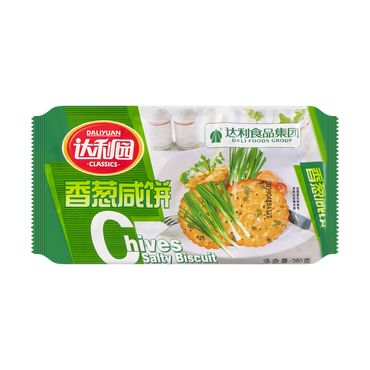 DALIYUAN Classics Chives Salty Biscuit 260g